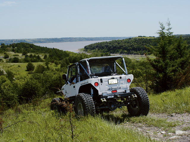 off road best in kansas trail